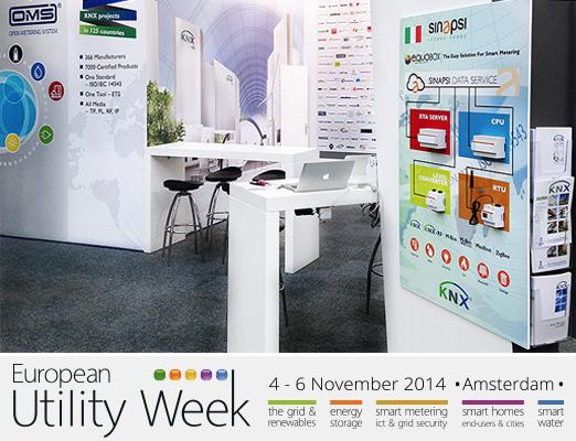 European Utility week - smartmeteriing-sinapsi