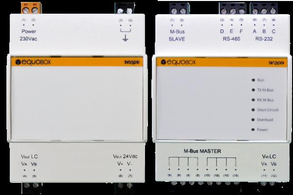 sin.eqlc250-contabilizzazione calore-level converter-M-Bus-equobox-sinapsi